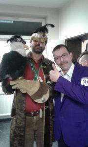 Adalbert und Gernot beim Karnevalsverein